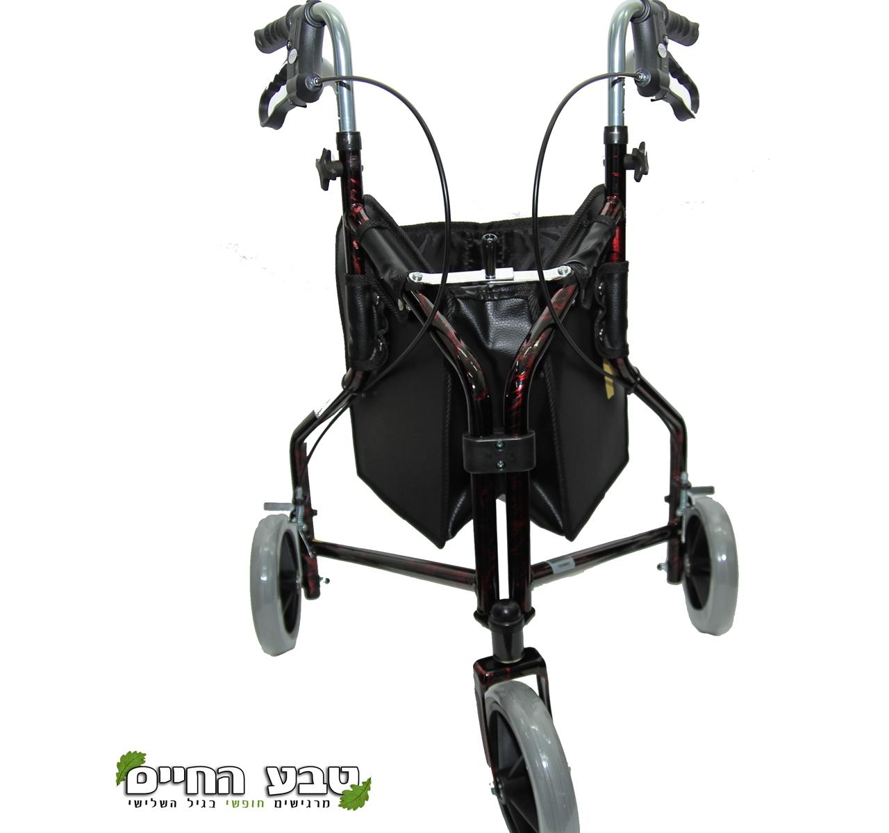 רולטור 3 גלגלים אלומניום קל משקל