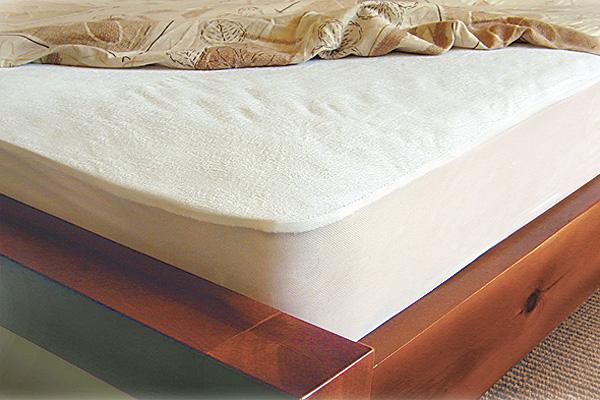 תמונה של מגן מזרון מגבת שקט מיטה זוגית