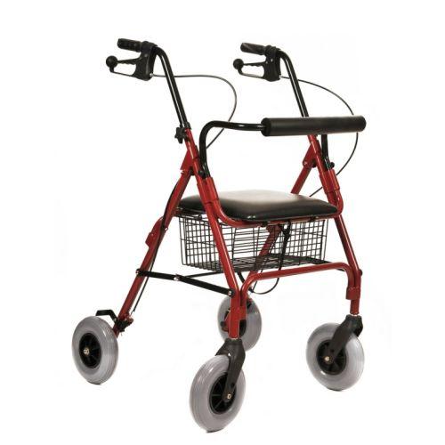 תמונה של רולטור 4 גלגלים עם גלגלי בלון
