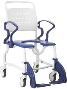תמונה של כסא רחצה ושירותים rotterdam עם גלגלים
